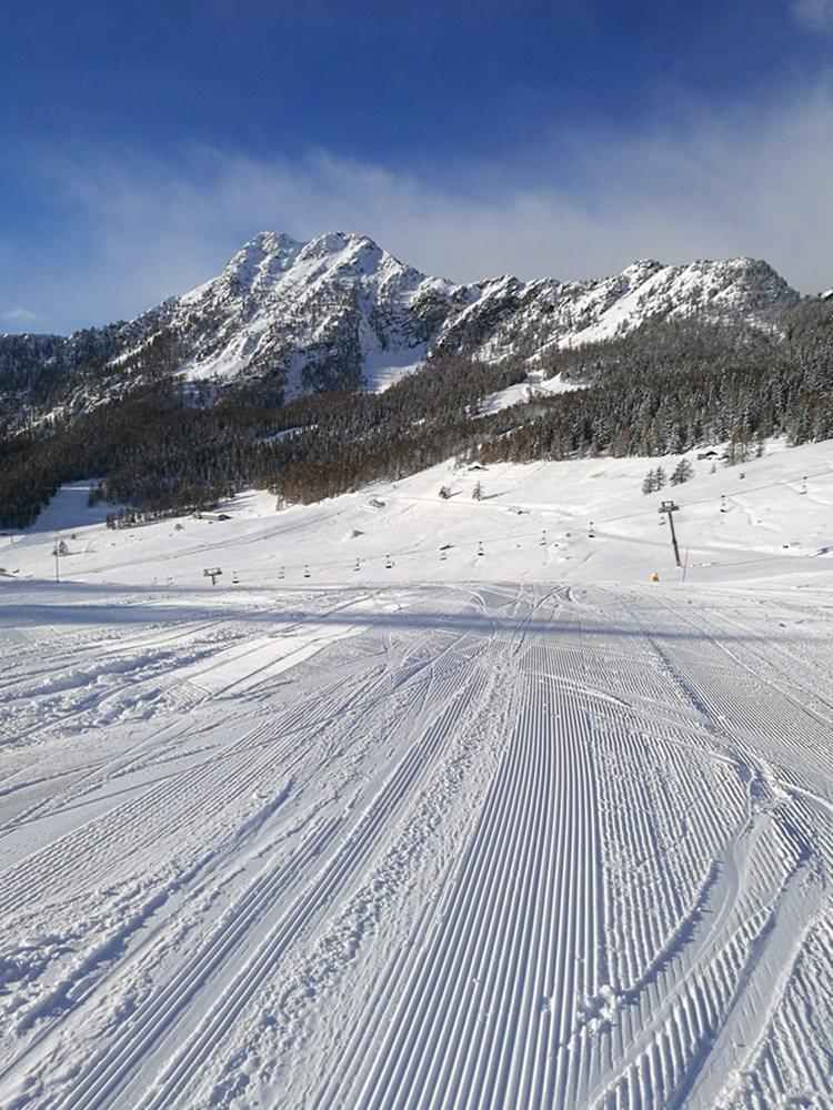 Leere Pisten mit Aussicht! Pistenglück im Aostatal