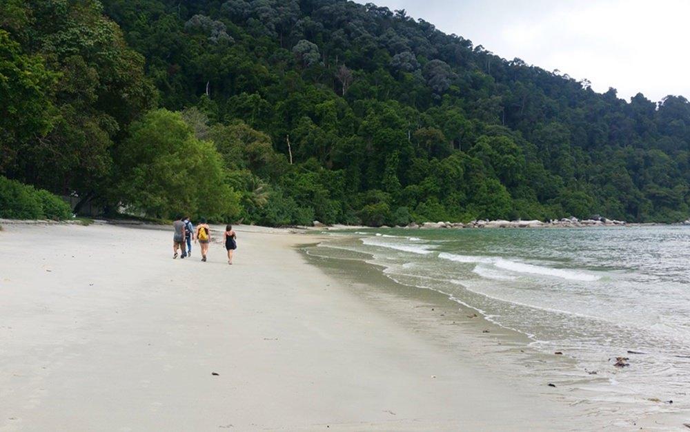 Monkey Beach im Penang Nationalpark in Malaysia