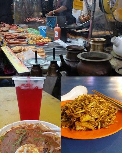 Streetfood in Malaysia