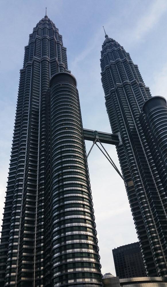 Petronus Towers in Kuala Lumpur @ Malaysia