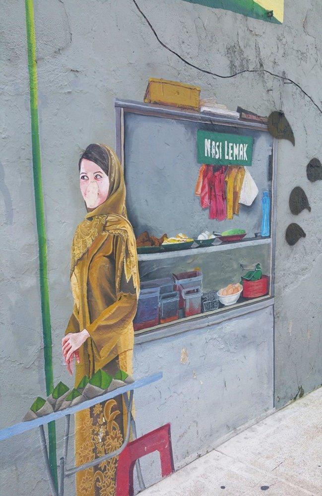 Streetart in Penang | Malaysia