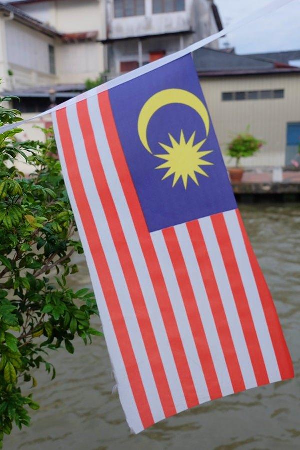 Die Flagge von Malaysia