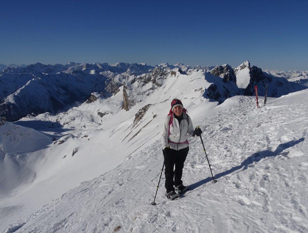 Gipfelglück an der Rofanspitze Foto: @bergundball