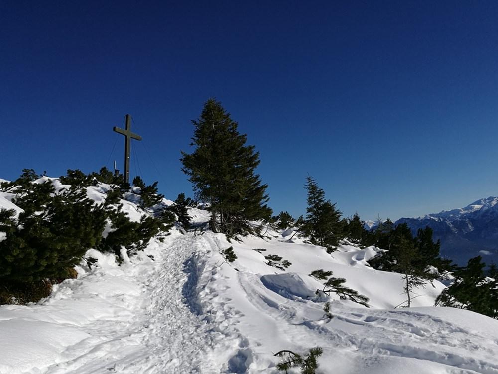 Das Gipfelkreuz auf dem Dürrnbachhorn ist in Sicht!