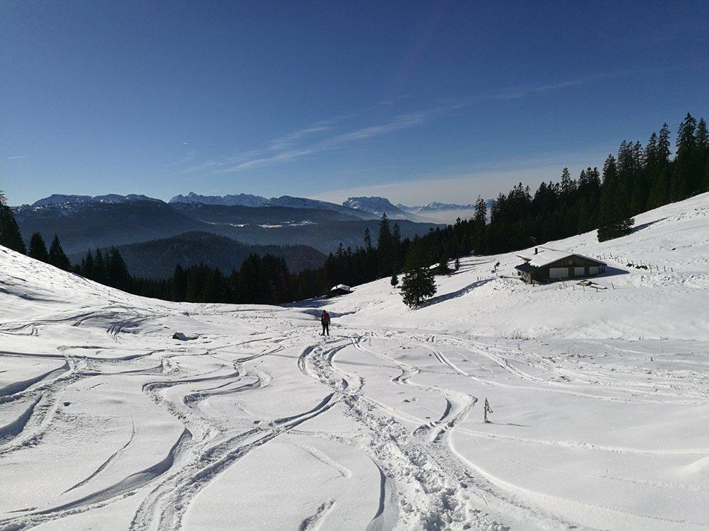Schneeschuh-Glück zwischen Dürrnbachhorn und Dürrnbachalmen