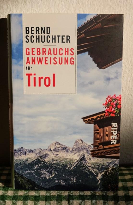 Buchtipp: Gebrauchsanweisung für Tirol