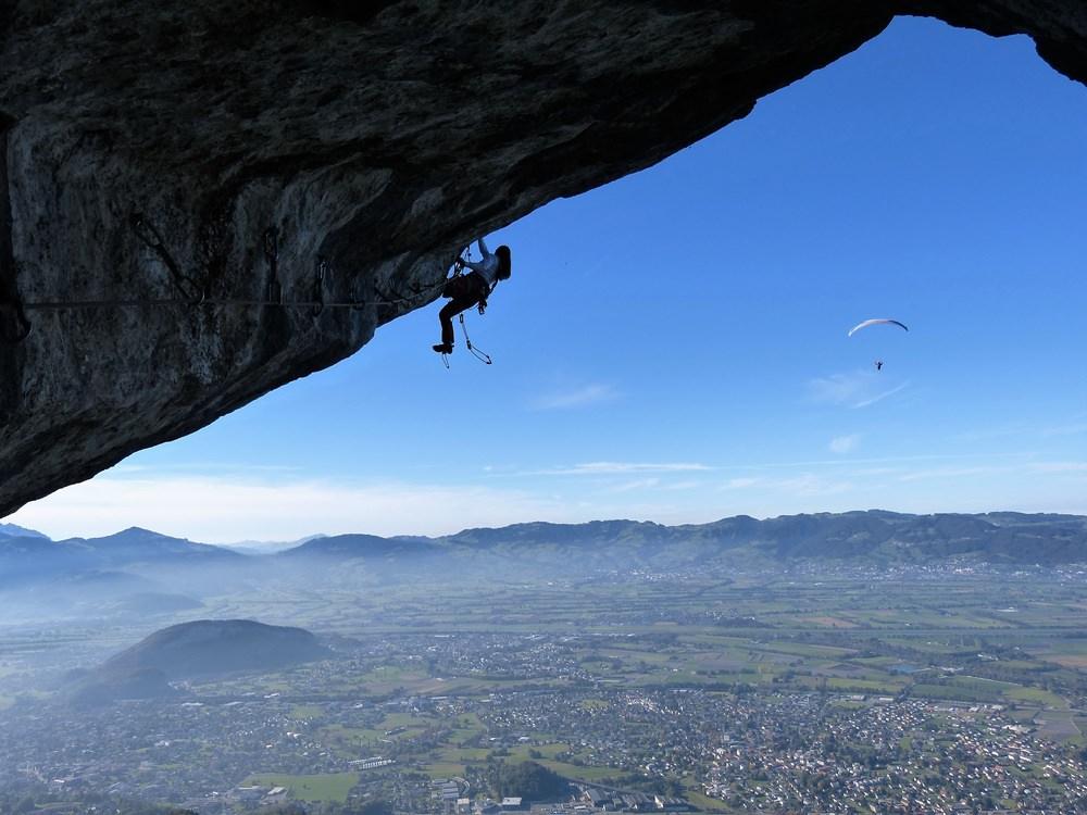Klettern am Kapfdach