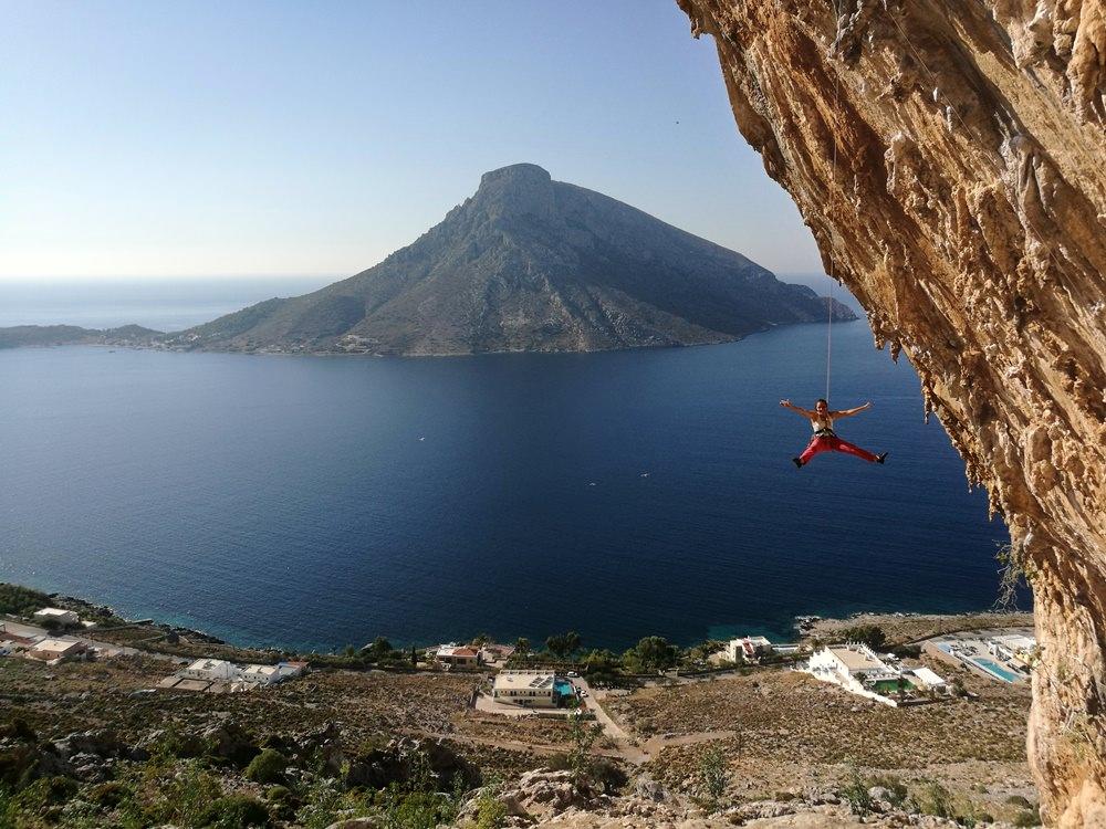 Klettern in Kalymnos