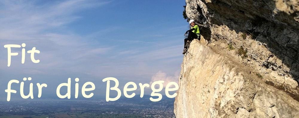 Fit für die Berge Teil 4: Bergfit fürs Klettern und Klettersteig gehen mit Tipps von moosbrugger-climbing.com