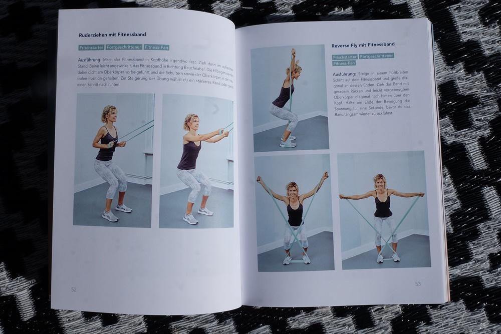 Trainingsvorschläge aus Fit und Fröhlich von Annika Zimmermann