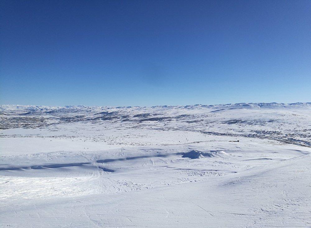 Das norwegische Fjell rund um Hovden - und mittendrin ein kleines feines Skigebiet!