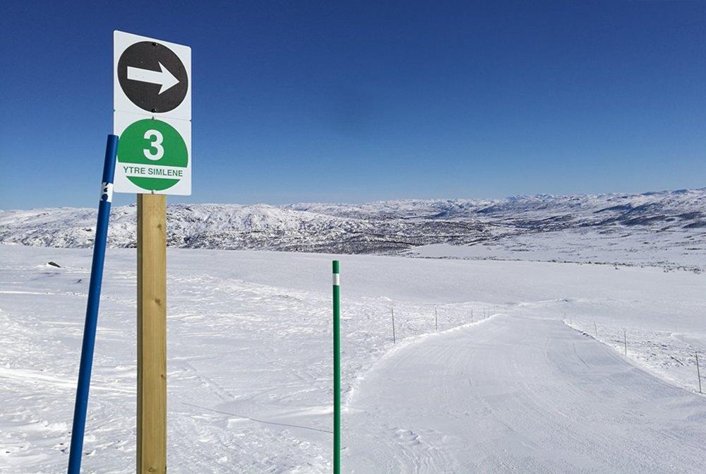 Grüne Pisten - perfekt für Anfängerinnen beim Skifahren! | Skigebiet Hovden, Nordwegen
