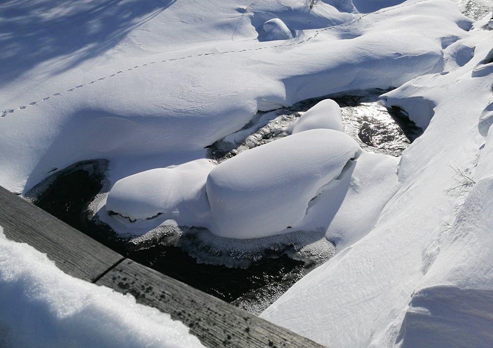 Taut es doch schon? Wasser, Schnee und Sonne in Hovden, Norwegen