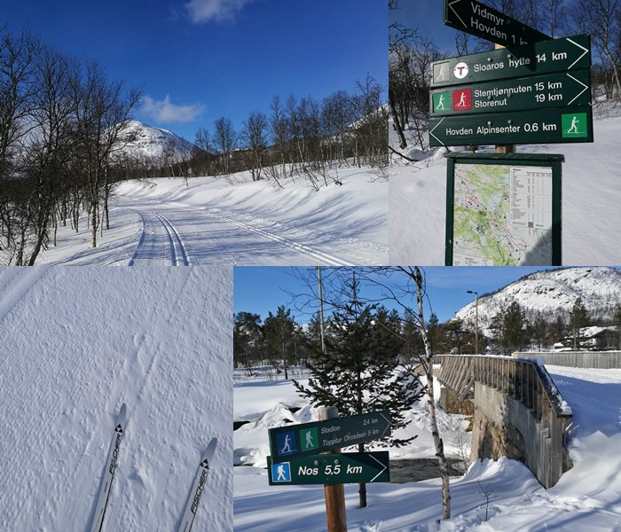 Langlaufen in Hovden / Norwegen