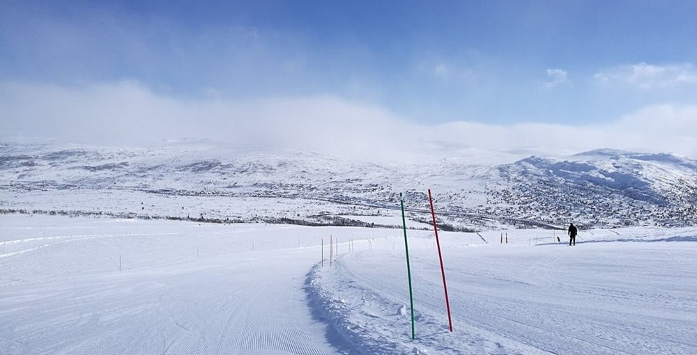 Projekt Pistenglück auf norwegisch: Skifahren in Hovden