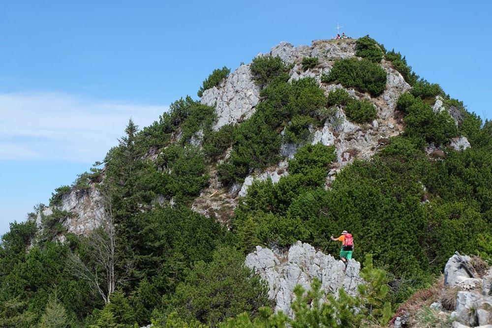 Gipfelbuch: Frühlings-Wanderung zum Rauhen Kopf 1.604 m