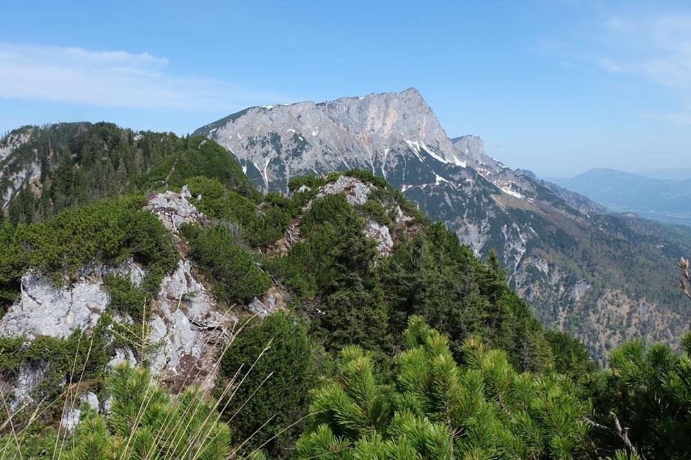 Blick nach Nordost: Untersberg und Stöhrhaus