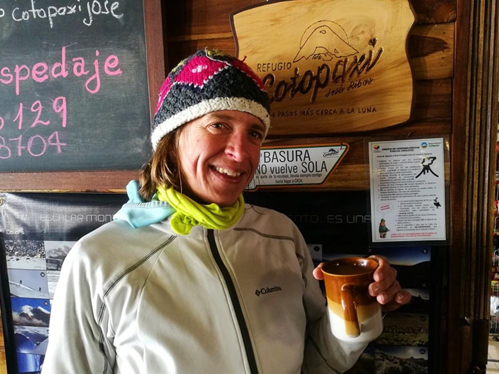 Höchster Punkt der Ecuador Tour: das Refugio José Ribas am Cotopaxi