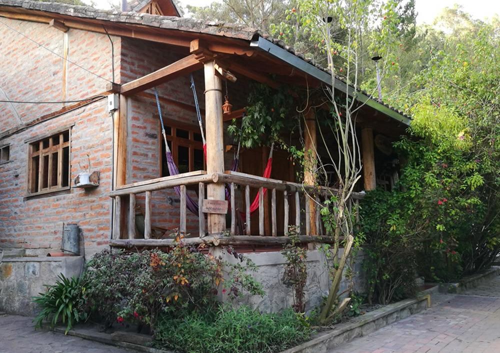 Hostal Mama Hilda - Hängematten mit Wlan in Chugchilan in Ecuador