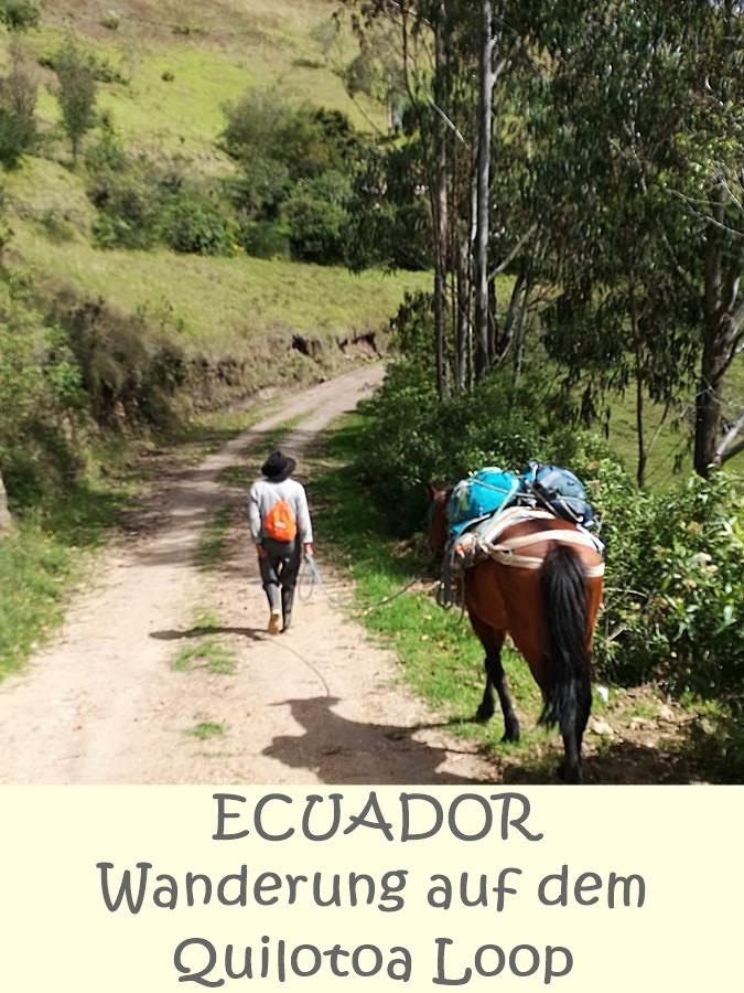 Pin mich! Wandern in Ecuador - der Quilotoa Loop im Gipfelglück Blog