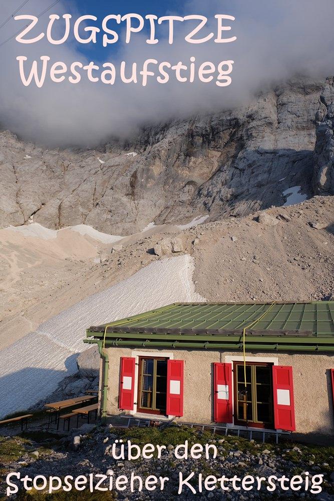 Bergtour auf die Zugspitze über den Stopselzieher Klettersteig