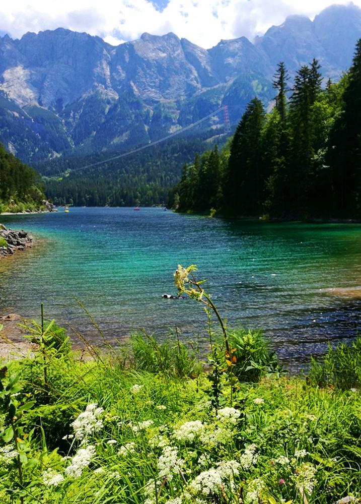 Vom Eibsee zur Zugspitze - eine Traumtour!