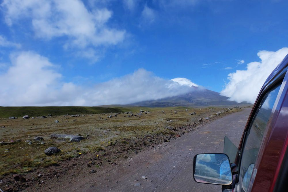 Cotopaxi in Sicht - unterwegs im Nationalpark | Ecuador