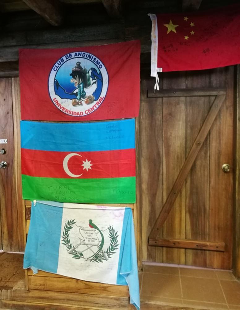 Erinnerungen an vergangene Cotopaxi Expeditionen im Refugio José Ribas in Ecuador