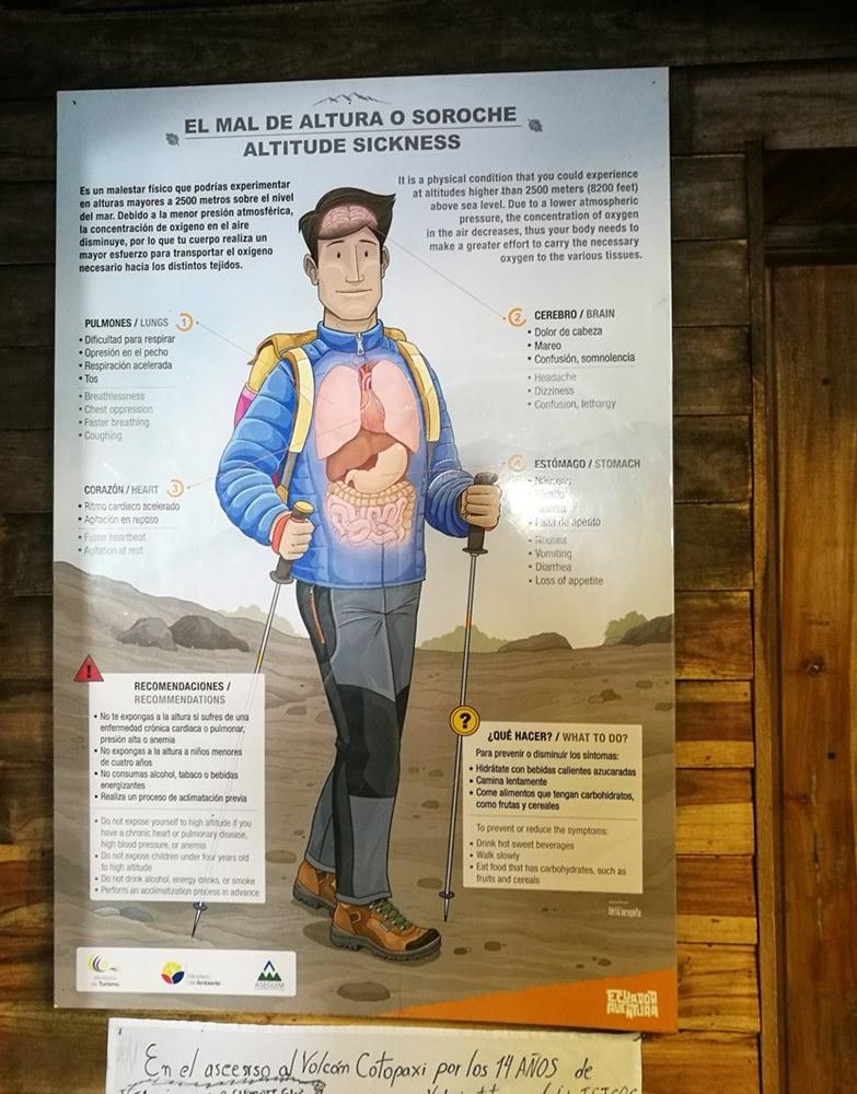 Nur nicht höhenkrank werden! Vorbeugung, Symtome uvm als Info für Bergsteiger auf dem Weg zum Cotopaxi | Ecuador