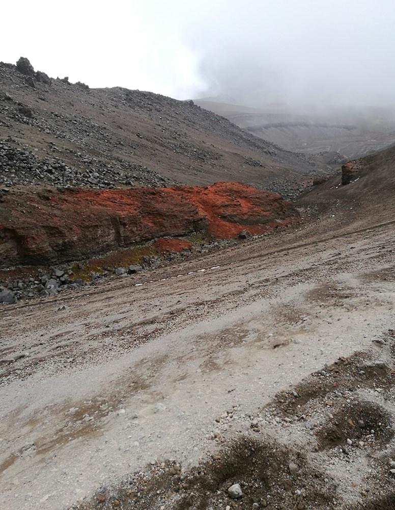 Im Abstieg von der Cotopaxi Hütte - Sand, Staub, Asche, Lava, 100 Grautöne, Vulkan-Liebe! | Ecuador
