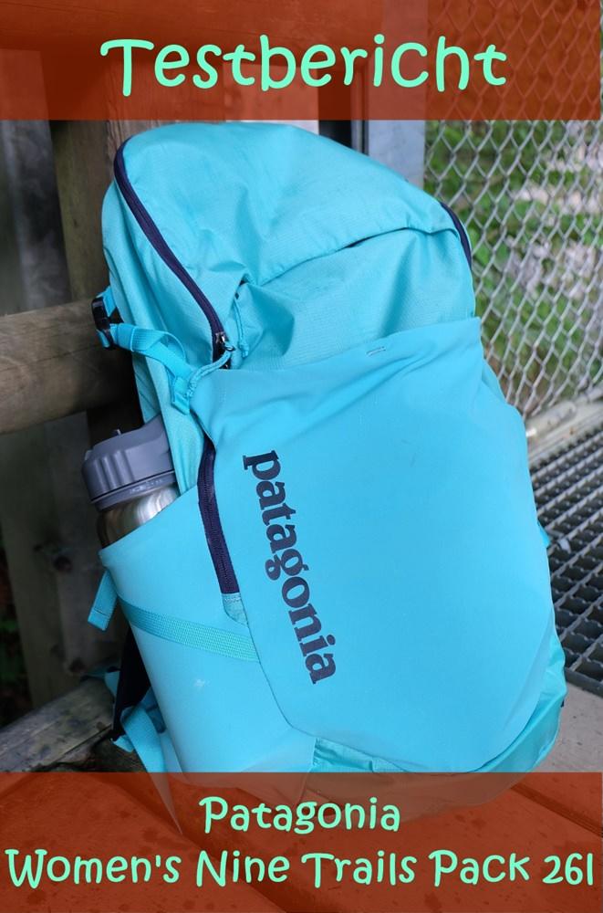 PIN MICH: Testbericht Damen Tagesrucksack von Patagonia - Nine Trails Pack 26l