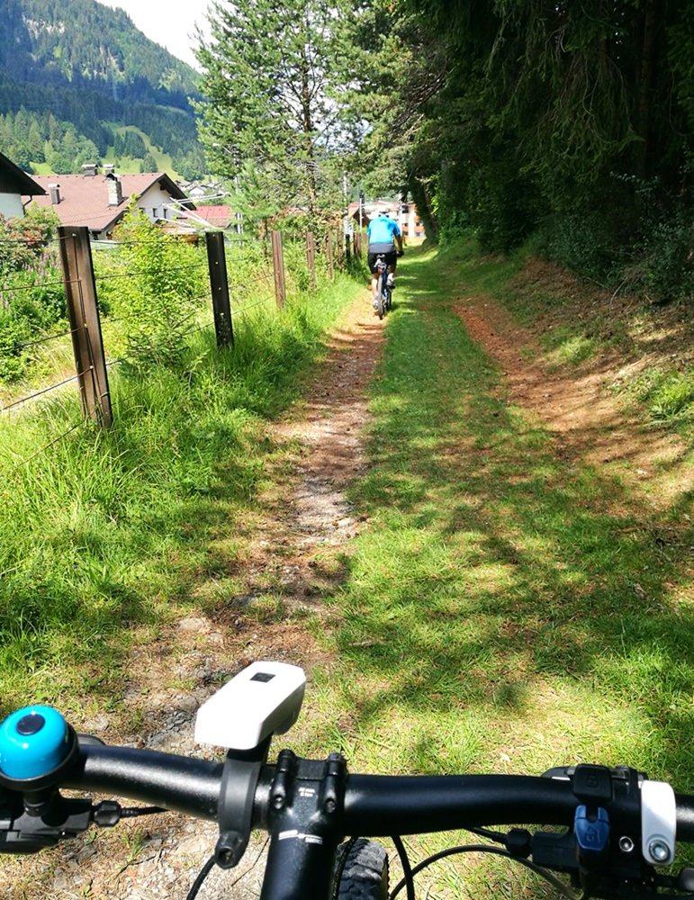 """Gemütliche Trails bei """"Rund um den Daniel"""" in der Nähe von Lermoos/ Tirol"""