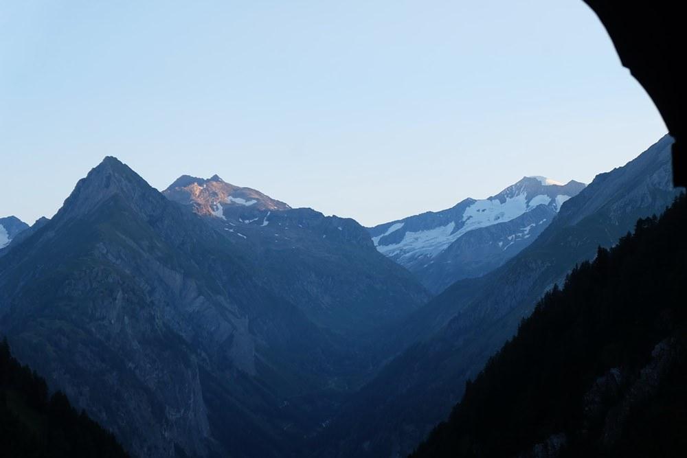 Abendstimmung - Blick von der Lasnitzen-Hütte zum Großvenediger | Osttirol, Österreich