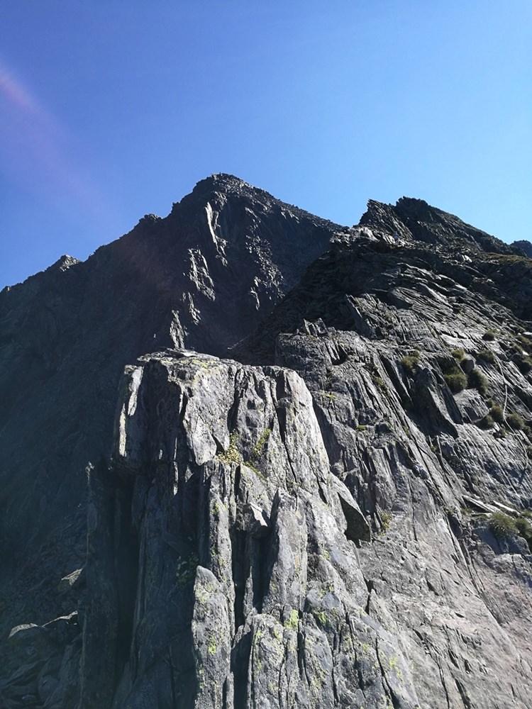 Am Grat zum Berger Törl, kurz vor dem Lasörling Gipfel | Hohe Tauern, Österreich