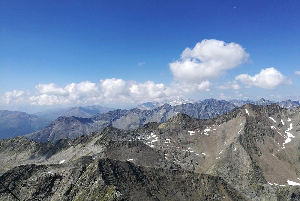 Aussicht vom Lasörling | Osttirol, Österreich