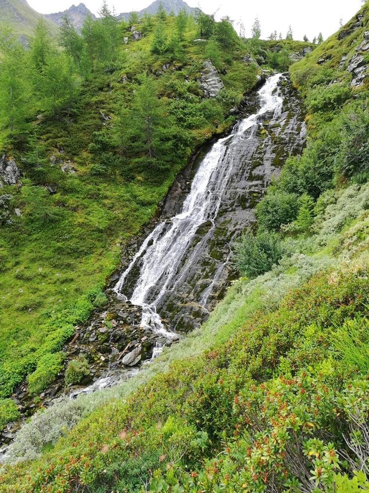 Wasserfall unterhalb der Bergerseehütte | Virgental, Osttirol