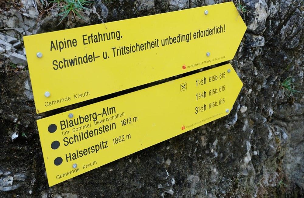 Da lang - durch die Wolfsschlucht auf den Schildenstein und weiter zur Königsalm | Bergsteigerdorf Kreuth, Bayern