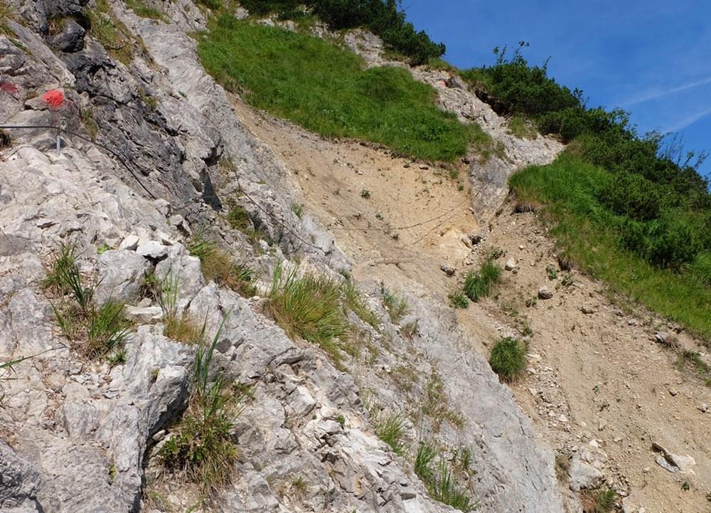 Konzentration ist nötig auf dem Weg durch die Wolfsschlucht zum Schildenstein | Kreuth, Bayern