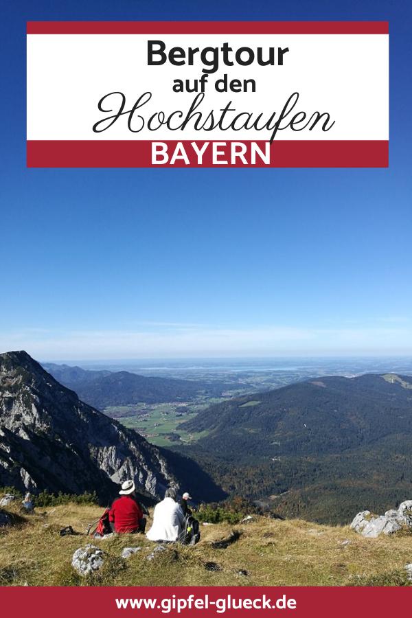 Bergtour auf dne Hochstaufen, Bad Reichenhall/ Bayern