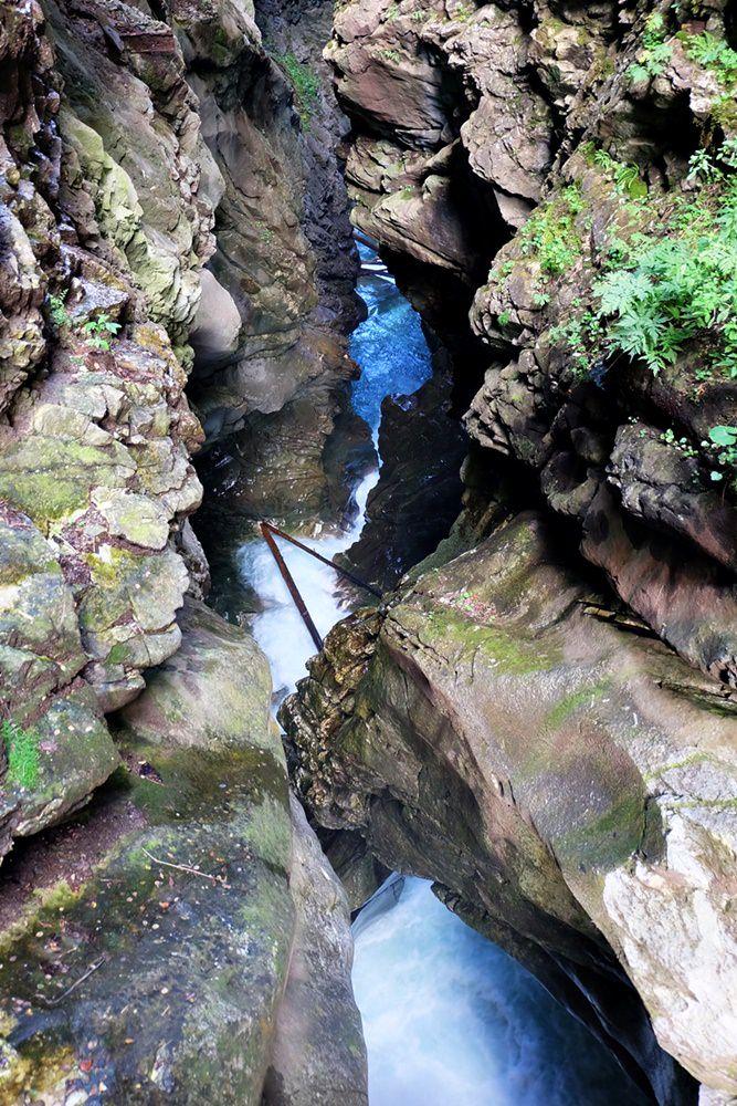 Bergab durch die Gilfenklamm nach Stange wandern | Südtirol
