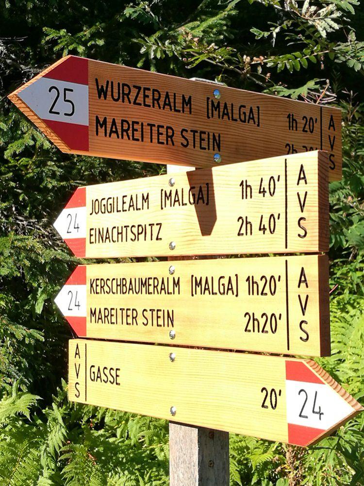 Zum Mareiter Stein: eine Bergtour im Ridnautal im Norden von Südtirol