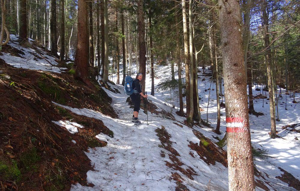 Gipfelbuch Dobratsch 2.166 – Hüttentour mit Schneeschuhen
