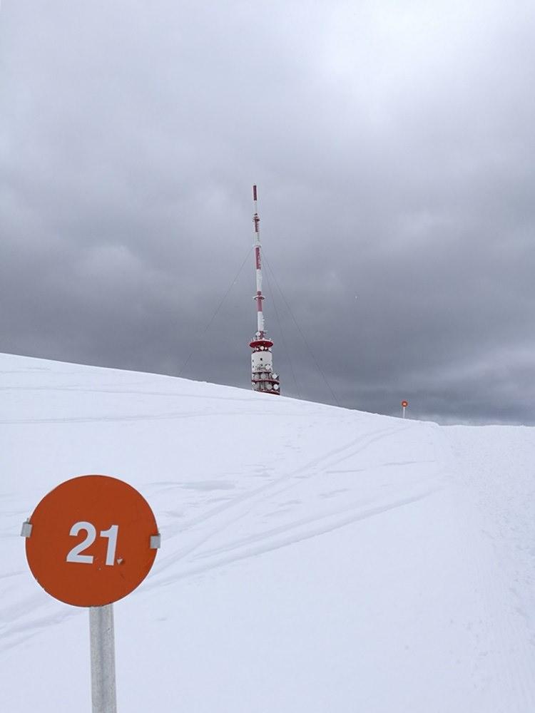 Wegmarkierung und Gipfel-Countdown zum Dobratsch | Kärnten