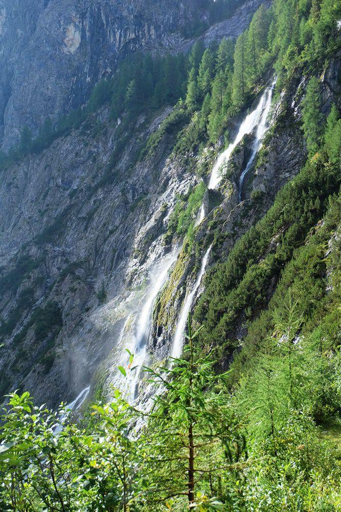 Wasserfall bei Kartitsch im TIroler Gailtal | Osttirol, Österreich