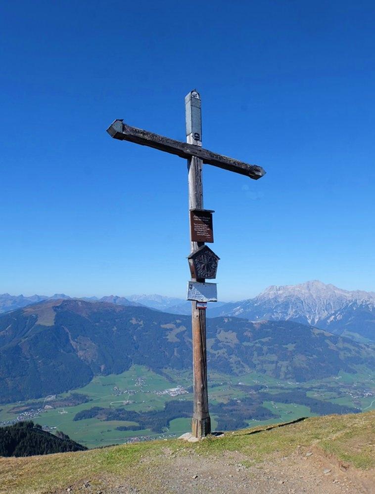 Gipfelkreuz an der Schwalbenwand | Pinzgau, Österreich
