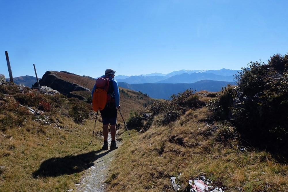 Am Grat unterwegs zum Hundstein | Pinzgau, Österreich
