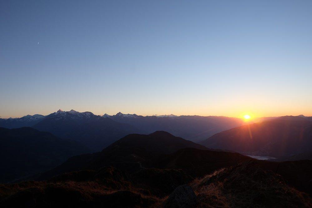 Sonnenuntergang am Statzerhaus auf dem Hundstein | Pinzgau, Österreich
