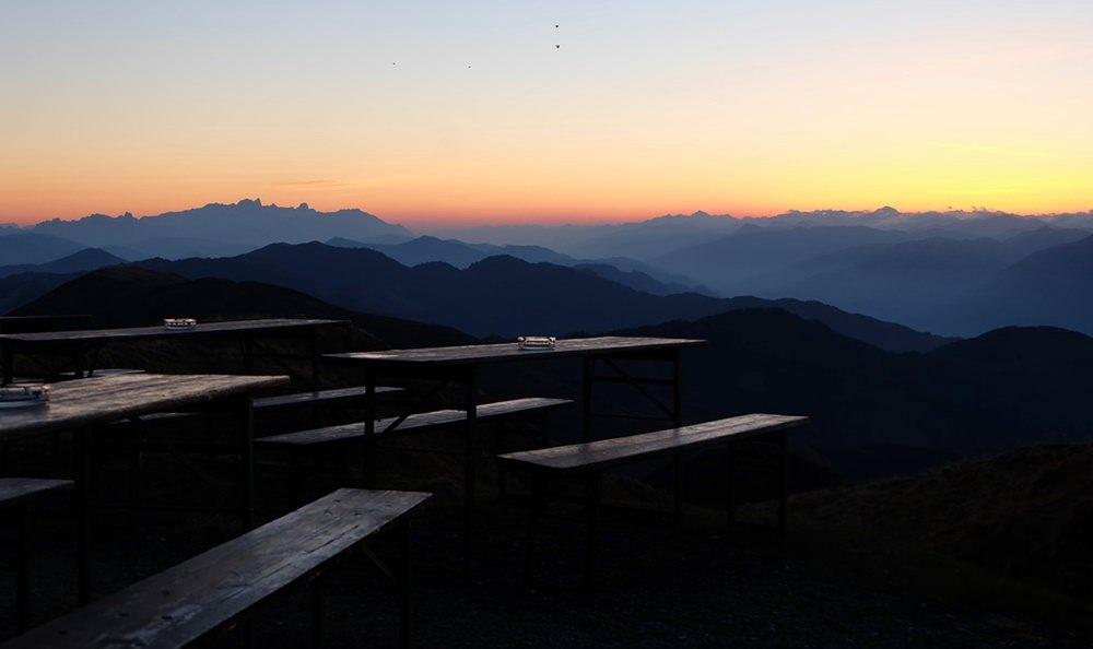 Morgendämmerung auf dem Hundstein | Pinzgau, Österreich