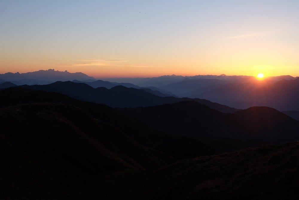 Sonnenaufgang auf dem Hundstein | Pinzgau, Österreich