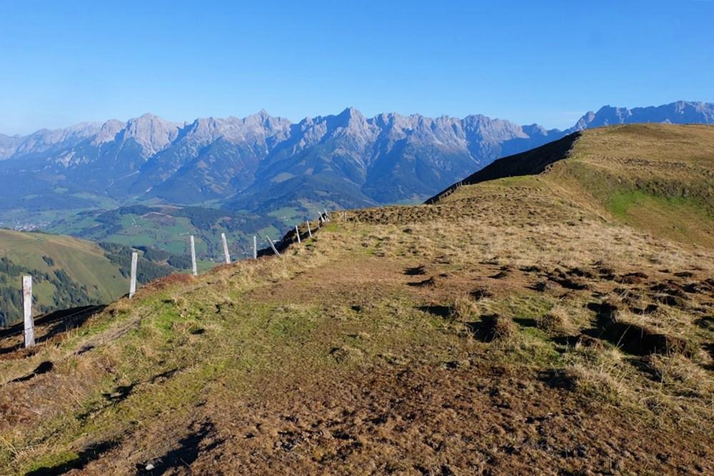 Hüttentour in den Salzburger Schieferalpen, wie die Grasberge auch heißen.